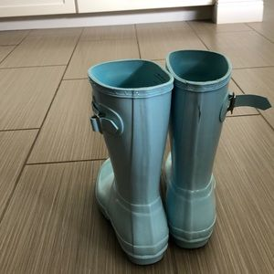 Shoes - Blue Hunter Rain Boots